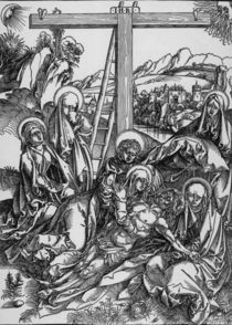A.Duerer, Grosse Beweinung Christi by AKG  Images