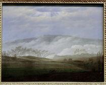 C.D.Friedrich, Nebel im Elbtal von AKG  Images