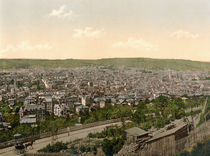 Stuttgart, Ansicht / Photochrom by AKG  Images
