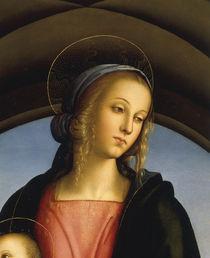 Perugino, Kopf der Maria von AKG  Images