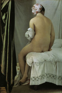 J.A.D.Ingres, Die Badende/ 1808 by AKG  Images