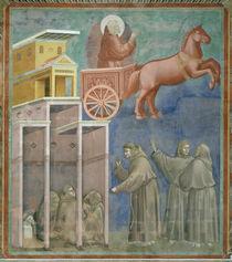 Giotto, Die Vision der Brueder by AKG  Images