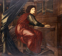 E.Burne Jones, Die heilige Caecilie von AKG  Images