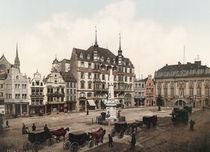 Bonn, Rathaus / Photochrom von AKG  Images