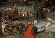 J.Brueghel d.Ae., Triumph des Todes von AKG  Images