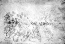 Dante, Goettliche Komoedie / Botticelli von AKG  Images