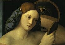 Giov.Bellini, Junge Frau bei Toilette von AKG  Images