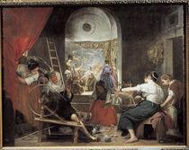 Velazquez, Die Spinnerinnen / um 1657 by AKG  Images