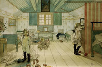 C.Larsson, Das Schlafzimmer von Mama.... von AKG  Images