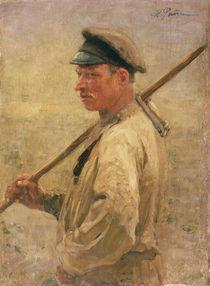 Ilja Repin, Schnitter aus Litauen by AKG  Images