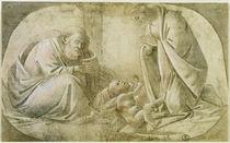 S.Botticelli, Heilige Familie von AKG  Images