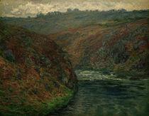 C.Monet, Blick auf Creuse von AKG  Images