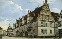 Celle, Rathaus / Postkarte by AKG  Images