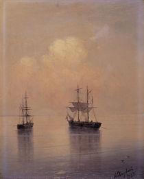 I.K.Aiwasowski, Segelschiffe auf Meer von AKG  Images
