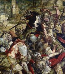 Schlacht am Ticinus / Karton f.Bildtepp. by AKG  Images