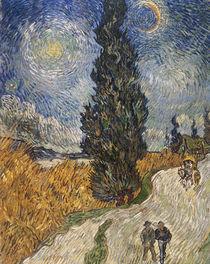 Van Gogh/Zypressenweg Sternenhimmel/1890 von AKG  Images
