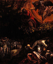 Tintoretto, Christus am Oelberg by AKG  Images