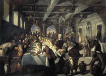 Tintoretto, Hochzeit zu Kana von AKG  Images