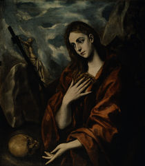 El Greco, Buessende Maria Magdalena von AKG  Images