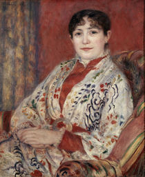 A.Renoir, Bildnis Mme Leriaux/ 1886 by AKG  Images