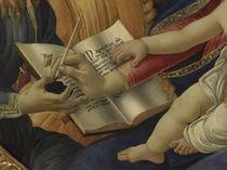 Botticelli, Madonna Magnificat, Ausschn. by AKG  Images