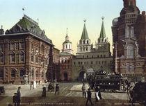 Moskau, Iberische Pforte / Photochrom von AKG  Images