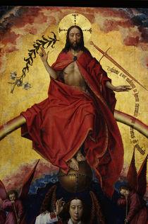 R.v.der Weyden, Christus Weltenrichter by AKG  Images