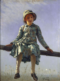 Ilja Repin/ Flattergeist/ 1884 von AKG  Images
