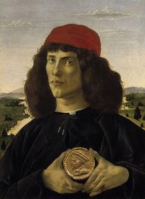 Botticelli, Bildnis eines Unbekannten von AKG  Images