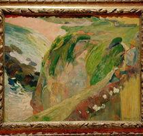 P.Gauguin, Floetenspieler auf d. Klippen von AKG  Images