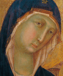 Duccio, Maesta, Kopf der Maria by AKG  Images