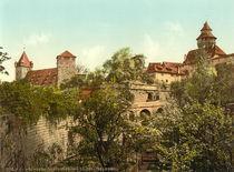 Nuernberg,Burg,Vestnertor, Kaiserstallung von AKG  Images