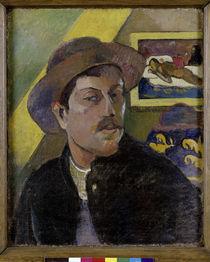 P.Gauguin, Selbstbildnis mit Manao Tupa. von AKG  Images