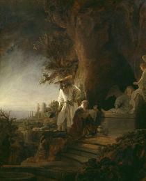 Rembrandt, Christus erscheint Maria Magd by AKG  Images