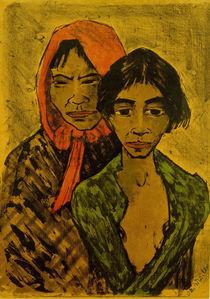 Otto Mueller, Zwei Zigeunerinnen von AKG  Images