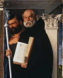 G.Bellini, Hl.Markus und Benedikt by AKG  Images