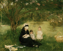 B.Morisot, Fliederbuesche in Maurecourt by AKG  Images