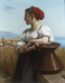 W.A.Bouguereau, Schnitterin by AKG  Images