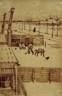 V.v.Gogh, Blick aus Atelier d. Kuenstlers by AKG  Images