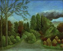 H.Rousseau, Blick auf die Ufer der Oise von AKG  Images