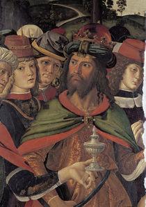 Perugino, Anbetung der Koenige, Ausschn. von AKG  Images