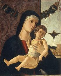Bellini oder Bastiani, Maria mit Kind von AKG  Images