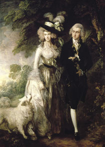Gainsborough/ Morgenspaziergang/1785 von AKG  Images