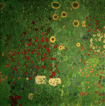 Gustav Klimt, Bauerngarten by AKG  Images