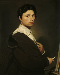 J.A.D.Ingres, Selbstbildnis 1804 by AKG  Images