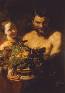 P.P.Rubens, Nymphe und Satyr von AKG  Images