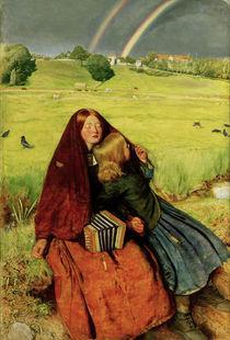 J.E.Millais, Das blinde Maedchen by AKG  Images