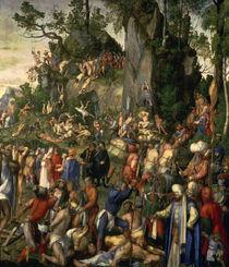 A.Duerer, Marter der zehntausend Christen von AKG  Images