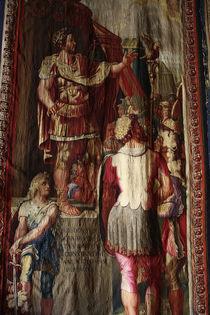 Kaiser Konstantin / Bildteppich von AKG  Images