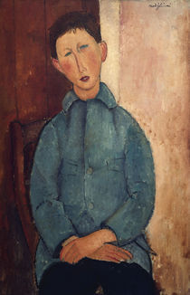 Modigliani,A./Junge in blauer Jacke/1918 by AKG  Images